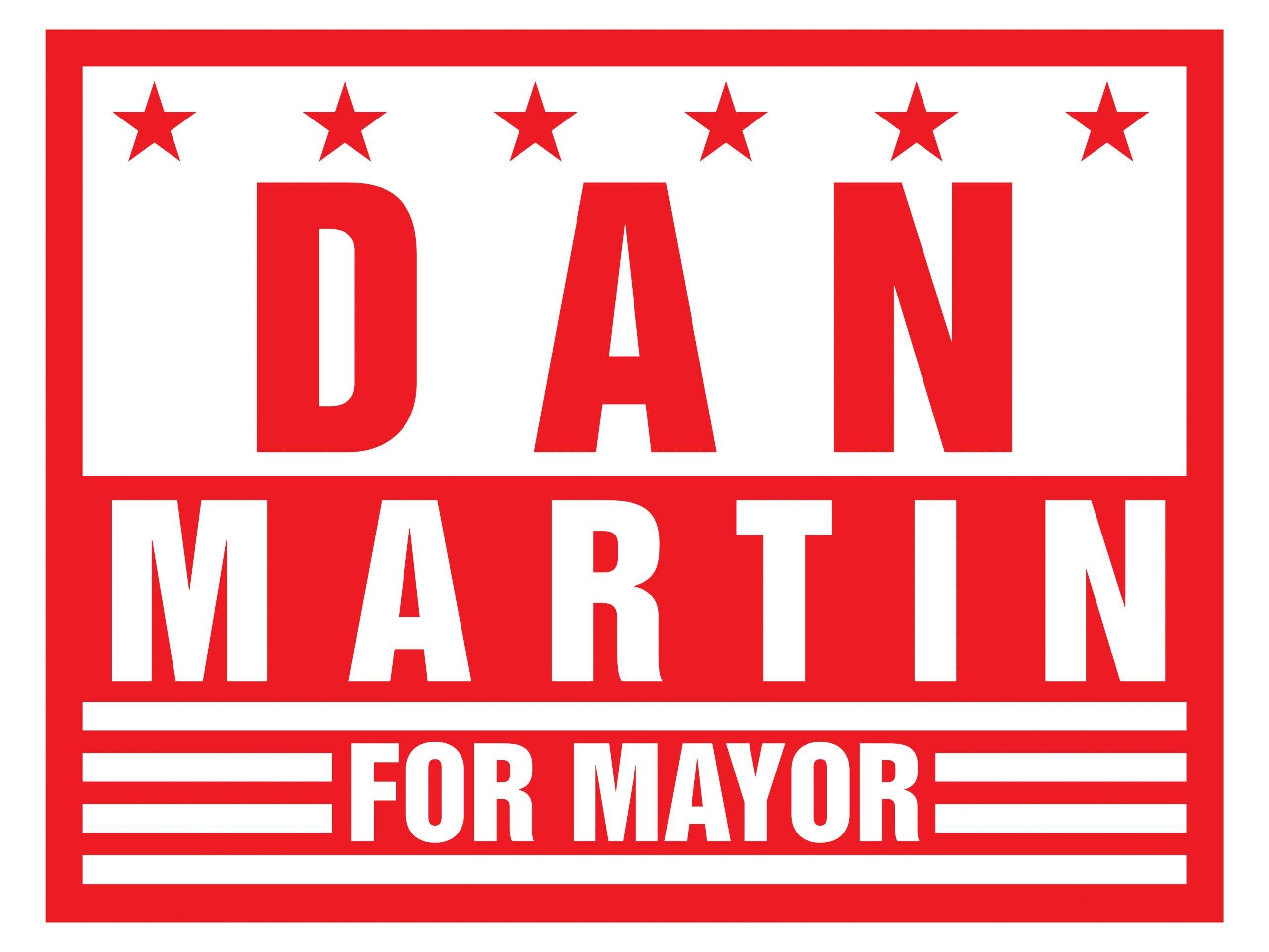 Martin Campaign Sign