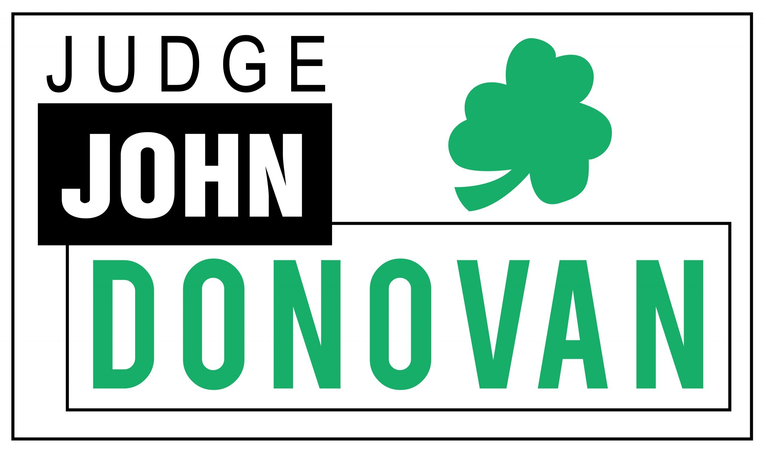 Donovan Yard Sign