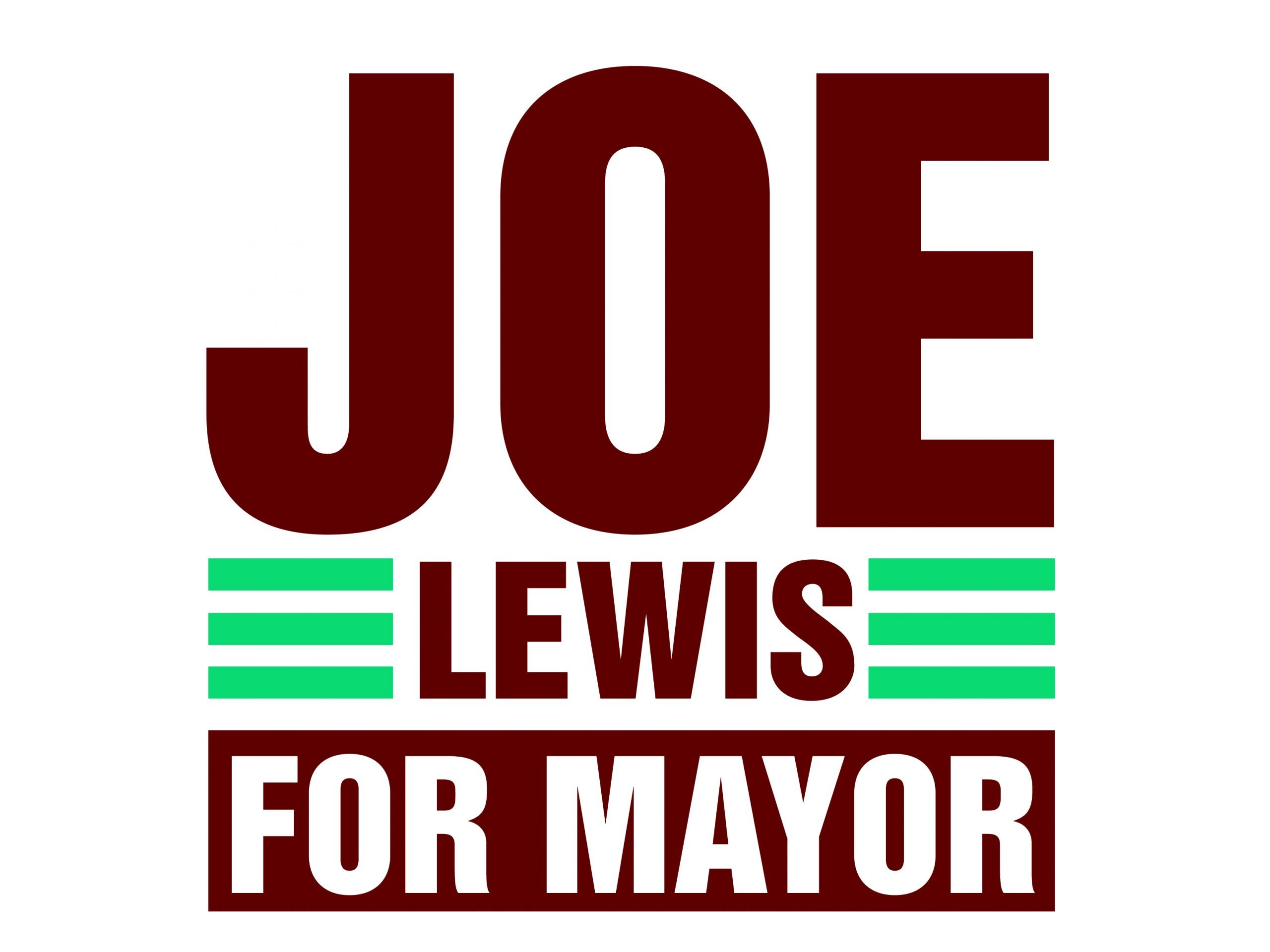 Joe Lewis Yard Sign
