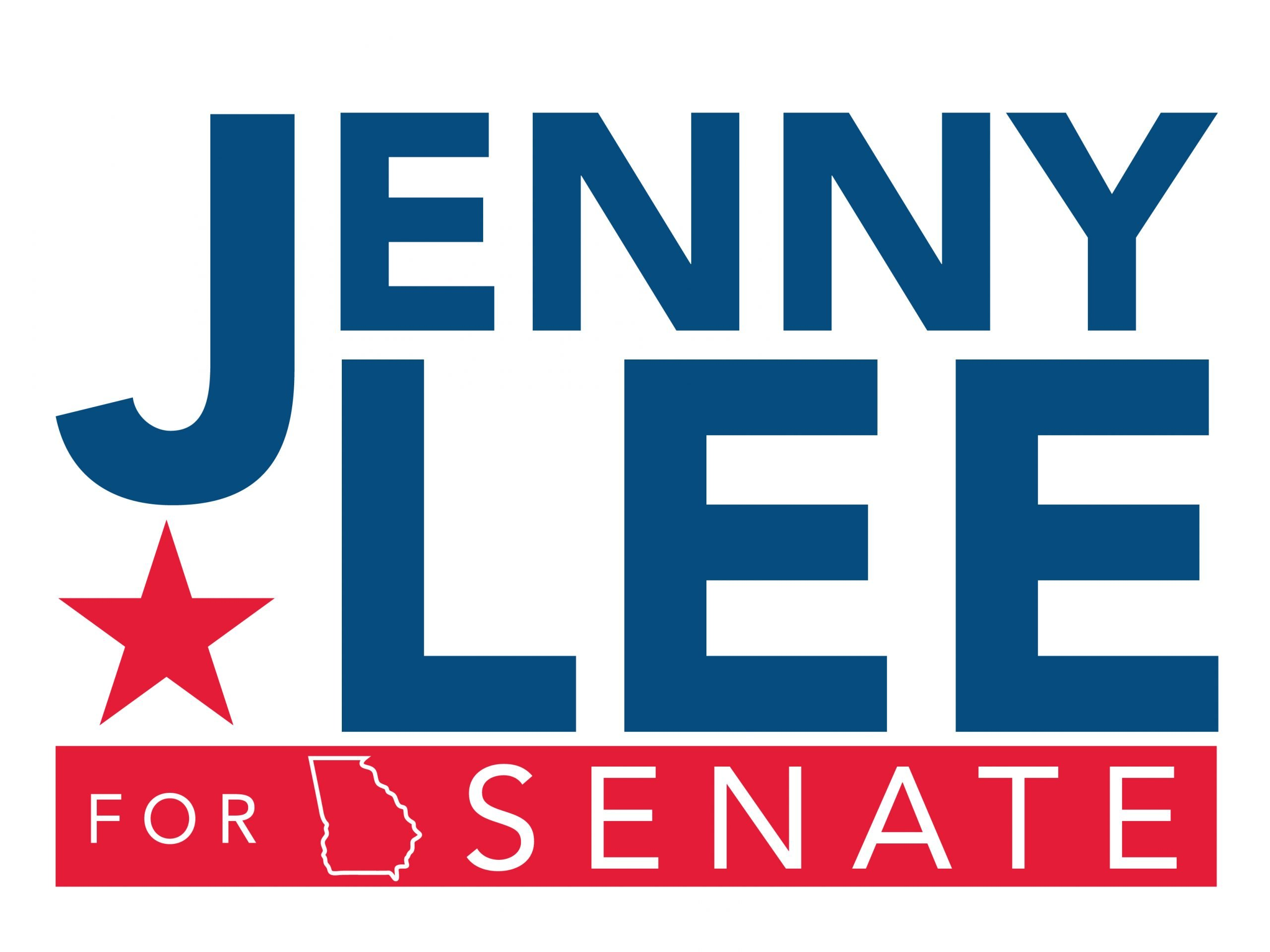 Jenny Lee Georgia Senate Logo
