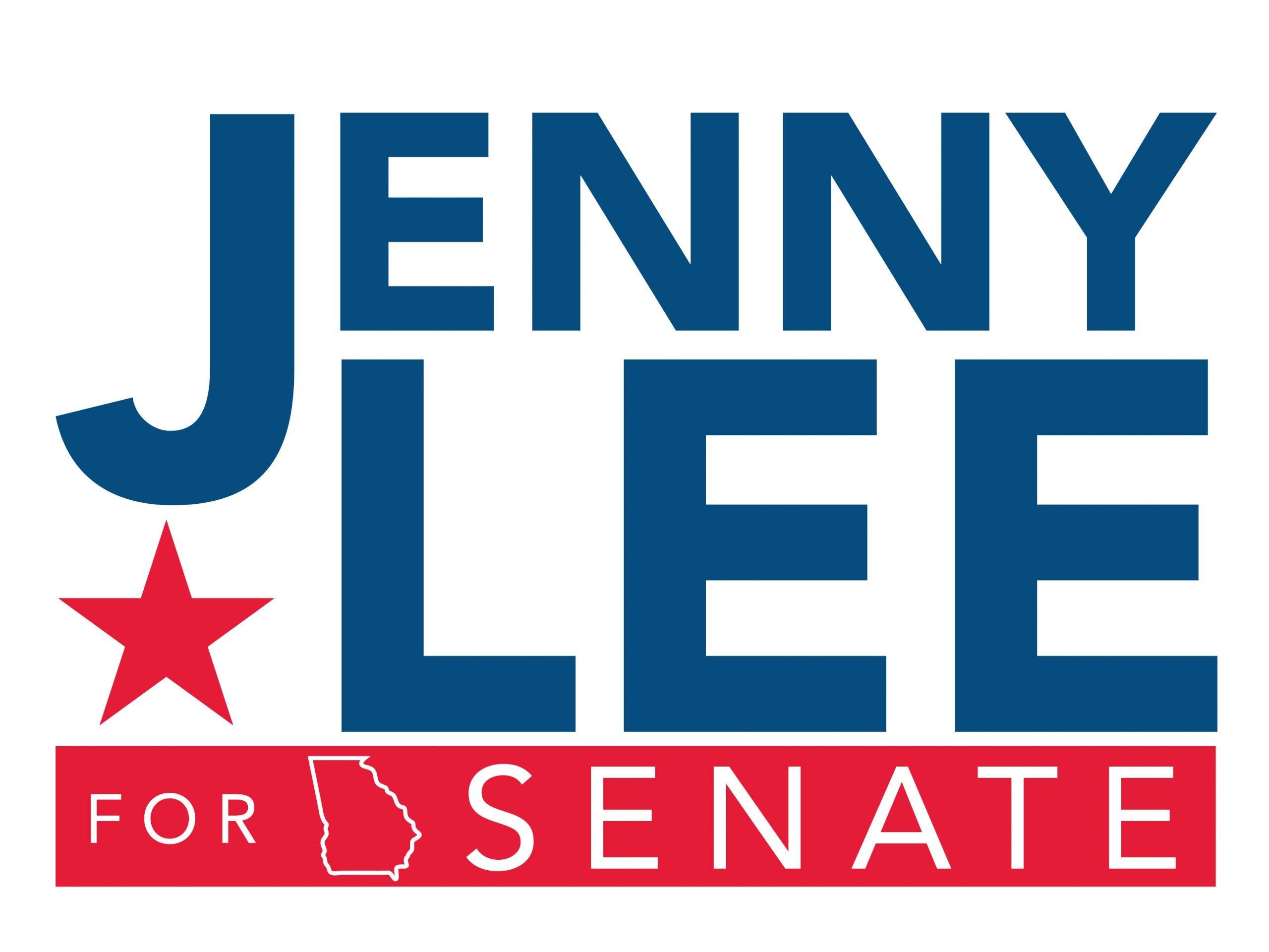 Jenny Lee Georgia Senate Logo