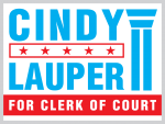 Florida Clerk Of Court Yard Sign Design