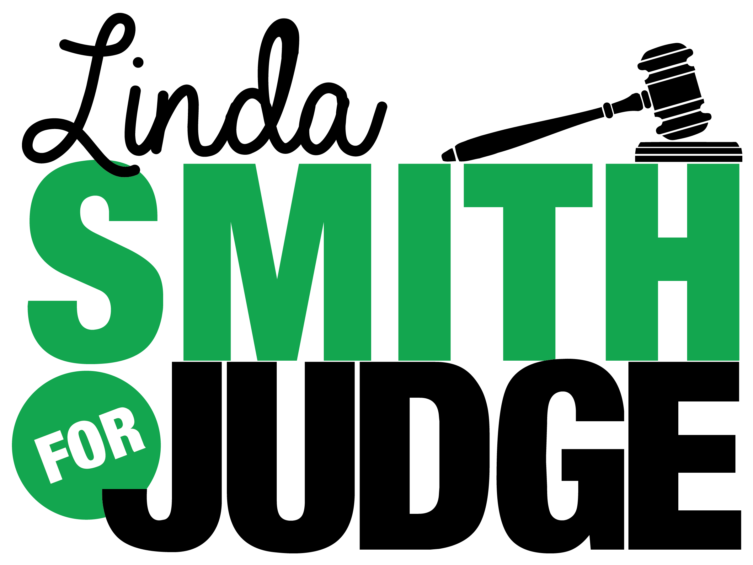 Smith Judge Campaign Sign Logo