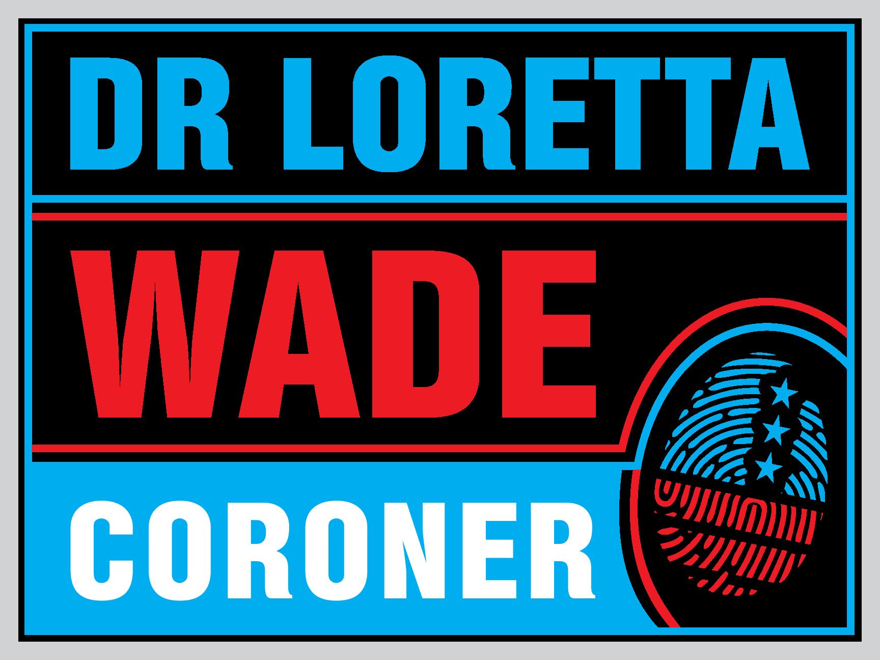 Cornoner Campaign Sign Logo