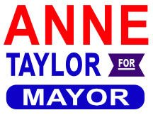 Anne Taylor Yard Sign