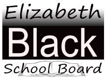 Black School Board Sign