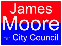 James Moore Campaign Logo