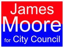 James Moore Campaign Logo