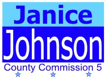 Johnson Campaign Sign