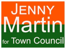 Jenny Martin Yard Sign Logo