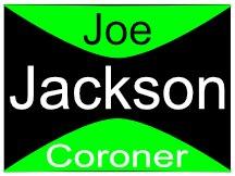 Jackson Coroner Sign