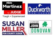 judge campaign template ideas