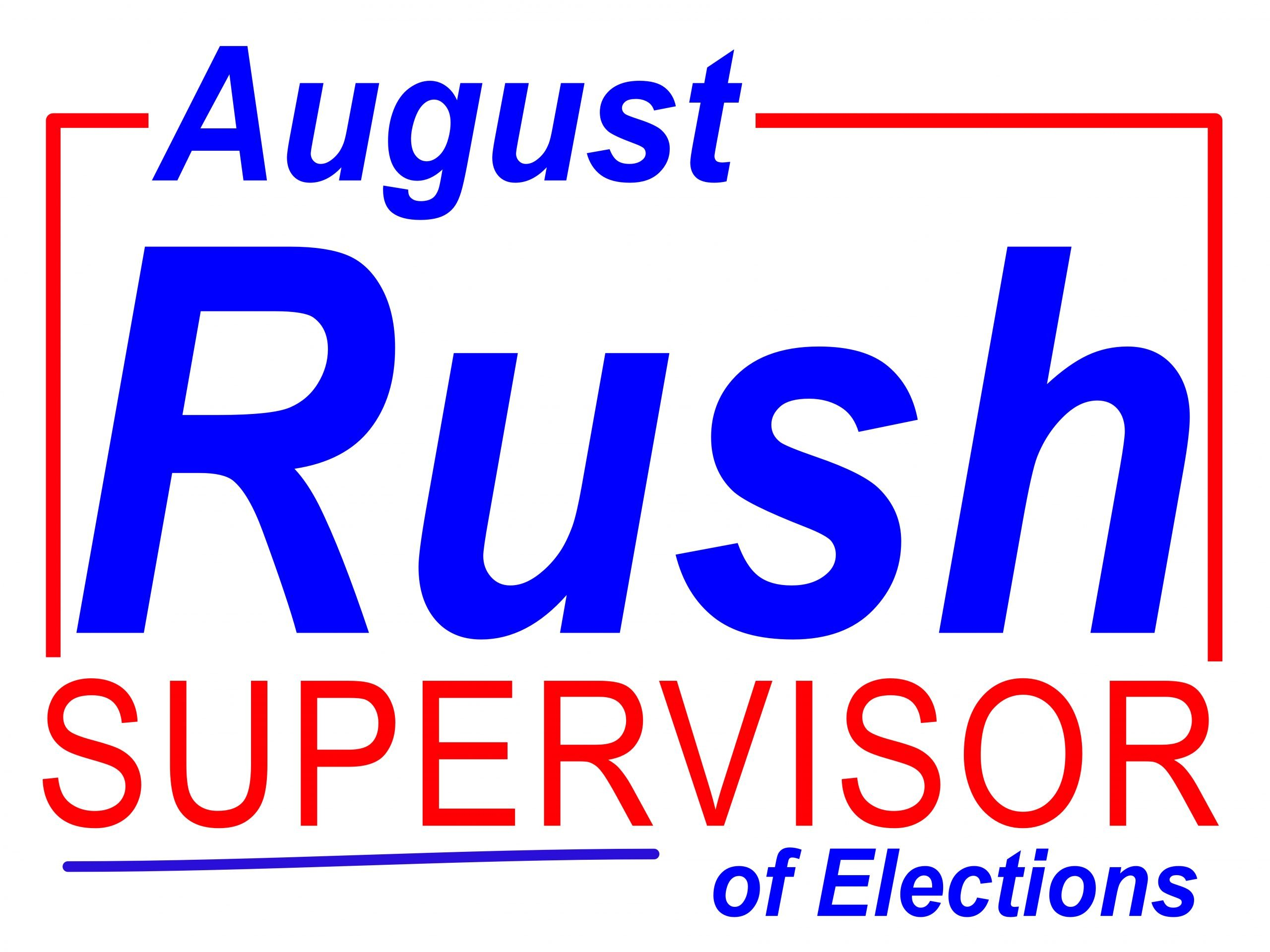 Rush Supervisor Sign
