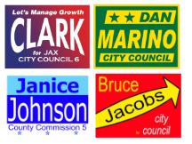 City Town Council sign ideas templates