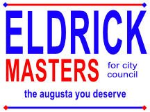 Masters For City Council Sign