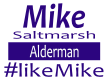 Saltmarsh For Alderman Sign