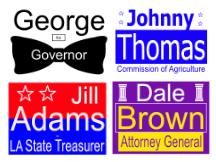 alabama governor campaign sign
