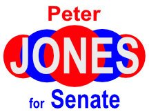 Peter Jones Senate Yard Sign