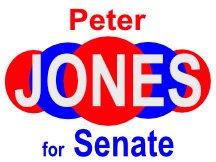 Peter Jones Senate Yard Sign