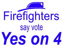 Firefighters Say Vote Yes
