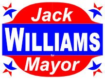 Williams For Mayor Political Campaign Logo