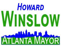 Atlanta Mayor Campaign Sign Or Logo