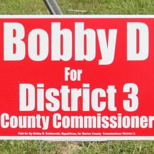 Ocala Red Campaign Sign