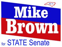 Brown For Senate Sign Logo