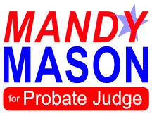Mason Or Probate Judge Logo / Sign