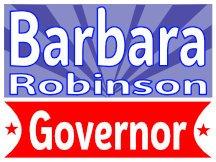 Robinson Governor Campaign Sign