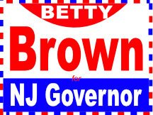 Brown For Governor Campaign Sign