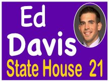 Ed Davis State House Photo Sign
