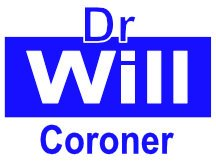 Dr Will For Coroner Campaign Sign Logo