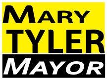 Tyler For Mayor Sign Logo