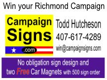 Campaign Sign Printer for Richmond Virginia