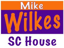 Mike Wilkes Sc House Campaign Sign Template