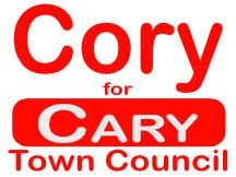 Cary Town Council Sign