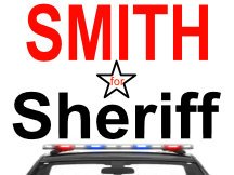 Smith For Sheriff Logo And Yard Sign