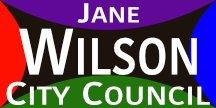 Jane Wilson 4 Color Campaign Sign
