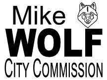 Wolf Campaign Sign Logo
