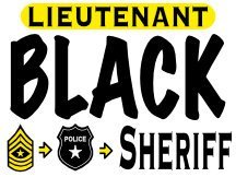 Yard Sign For Black For Sheriff