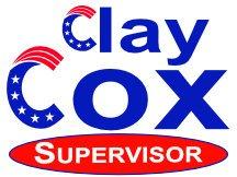 Clay Cox Supervisor Campaign Sign Idea