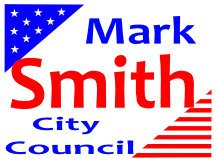Campaign Sign Logo For Mark Smith For City Council