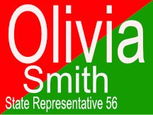 Smith Campaign Sign