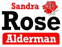 Rose For Alderman Campaign Sign Logo Design