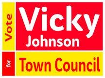 Johnson Town Council Yard Sign