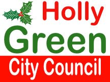 Holly Green For City Council Campaign Sign