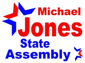 Michael Jones For State Assembly Campaign Logo