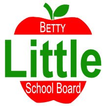 Betty Little Apple Campaign Sign
