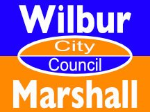 Wilbur Marshall For Gainesville City Council Campaign Sign Design